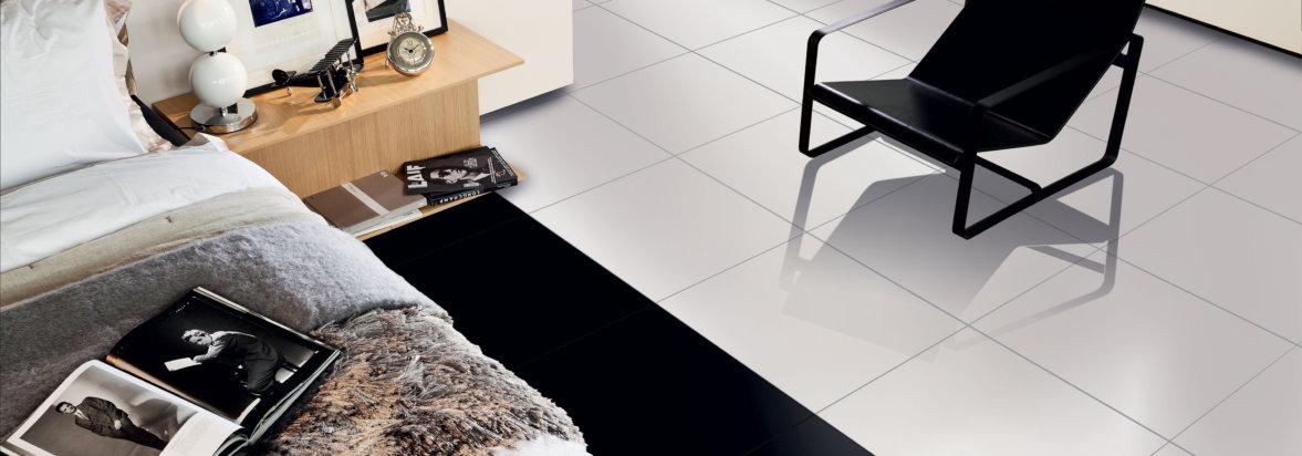 Super White & Black