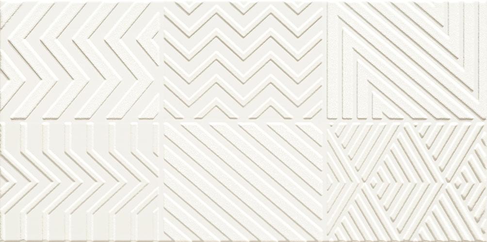 Karelia white patchwork