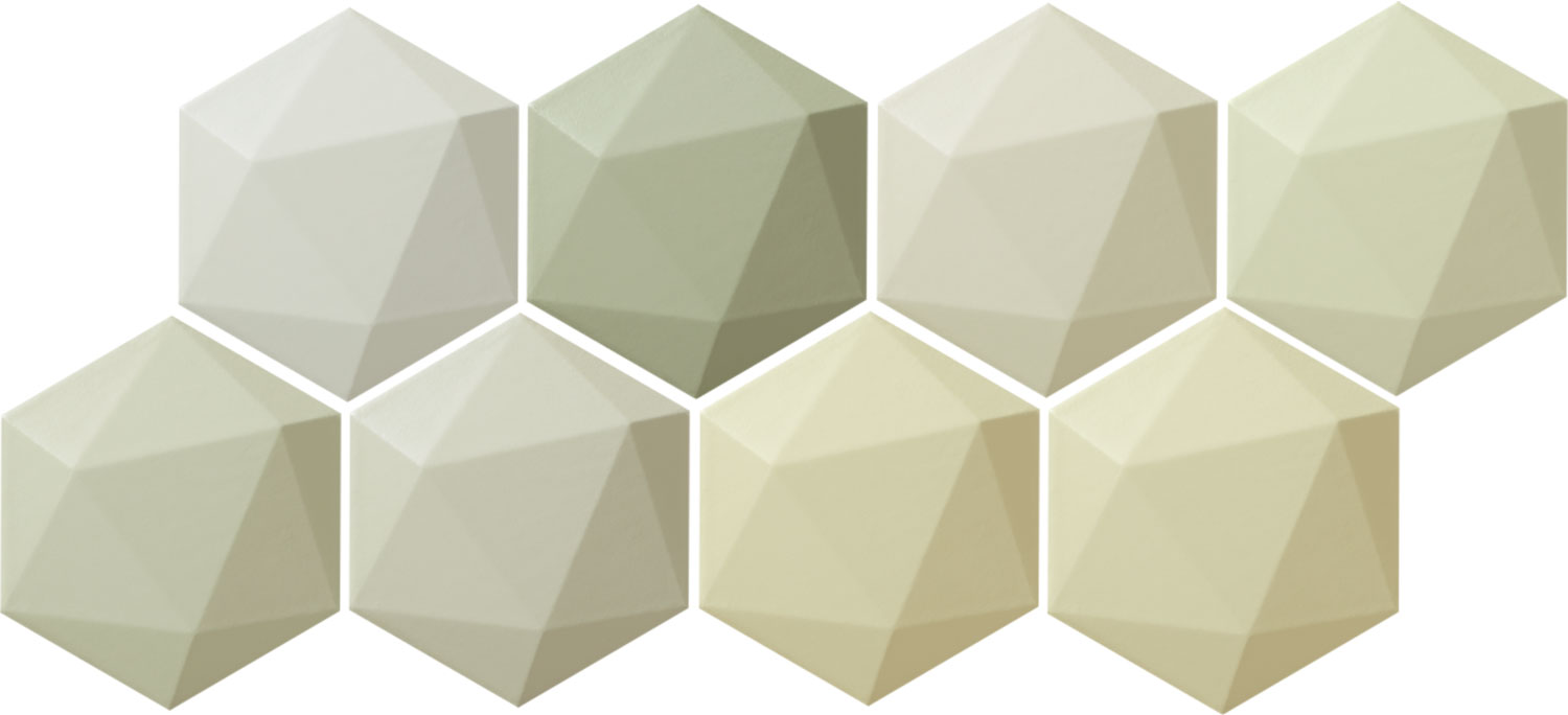 Origami green hex