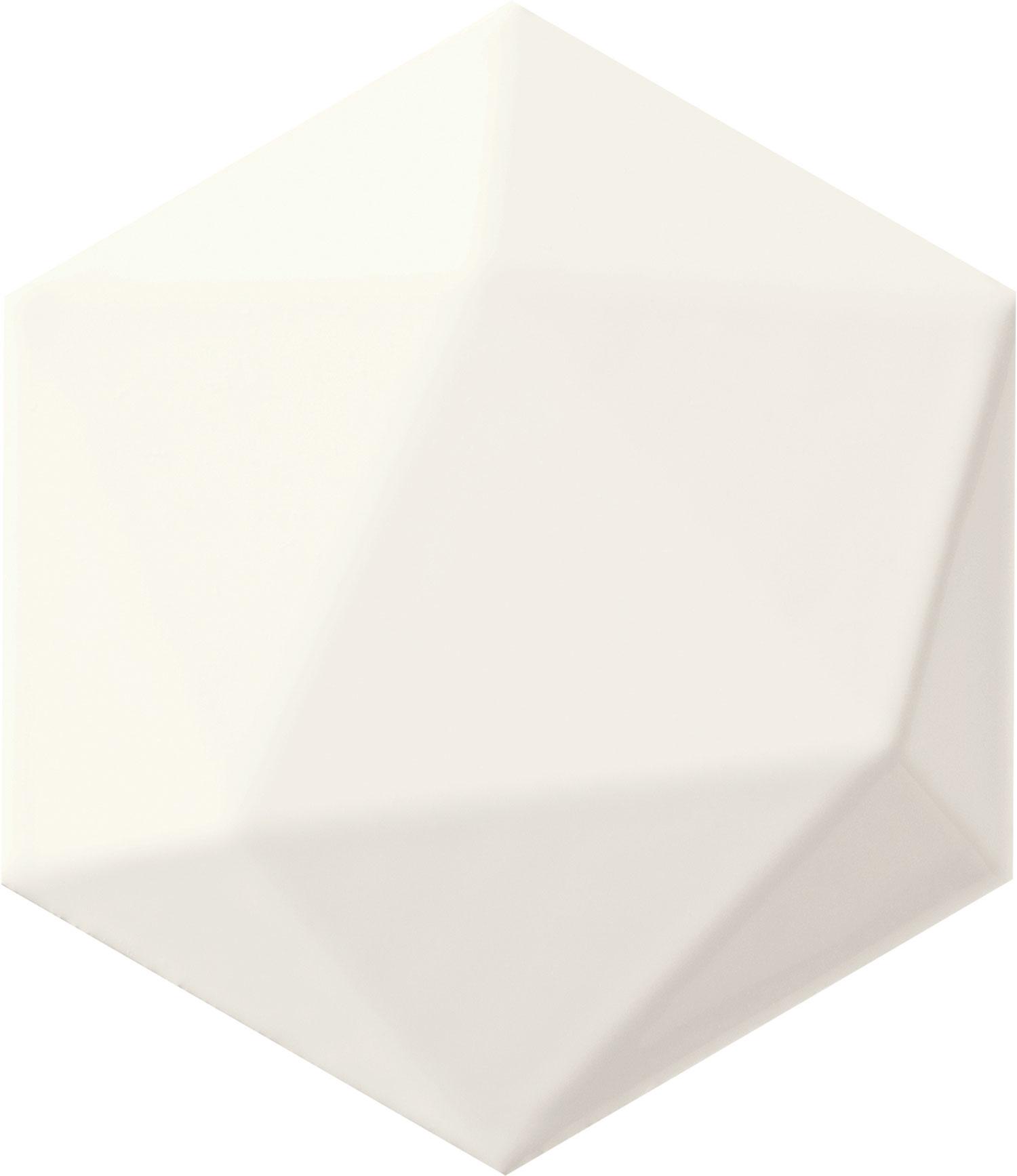 Origami white hex